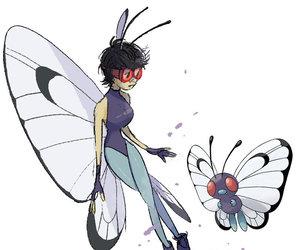 fanart, pokemon, and butterfree image