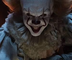afraid, clown, and film image
