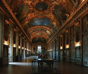art, gallery, and louvre image