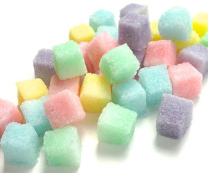 colors, cubes, and sugar image