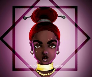 African, digital art, and photoshop image