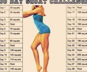 squats, fitness, and challenge image