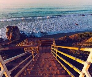 beach, ocean, and oceano image