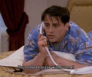 grunge, Joey, and pizza image