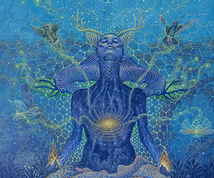 nature, spiritual, and universe image