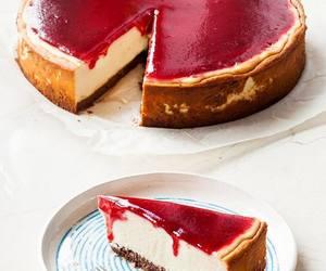 cheesecake, dessert, and cake image