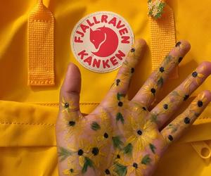yellow, art, and sunflower image