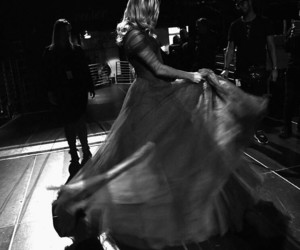 black and white, miley cyrus, and grammys 2018 image