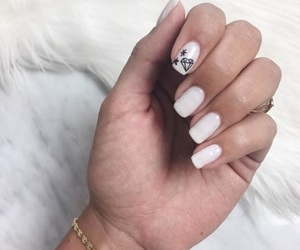 nail art, nails, and instagram image