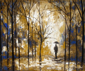 on sale, palette knife, and original painting image