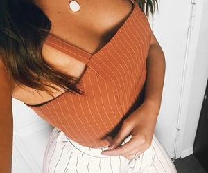 outfit and orange image