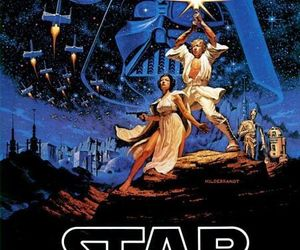 star wars, movie, and poster image
