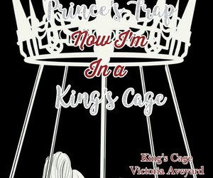 book, king's cage, and quotes image