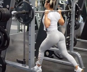 fitness, workout, and legday image