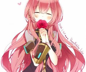 vocaloid, anime girl, and luka image
