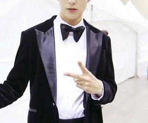 black, suit, and lee minhyuk image
