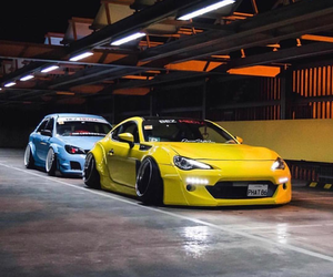 blue, cars, and race image
