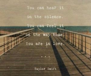 Lyrics, Taylor Swift, and love image