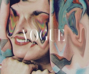art, vogue, and Collage image