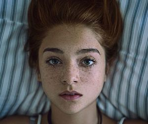 freckles, girl, and photography image
