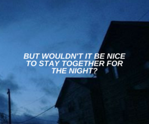 blue, Lyrics, and music image
