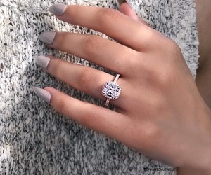 girl, girly, and ring image