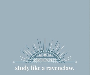 harry potter, ravenclaw, and study image
