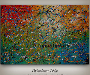 Abstract Painting, etsy, and abstractpainting image