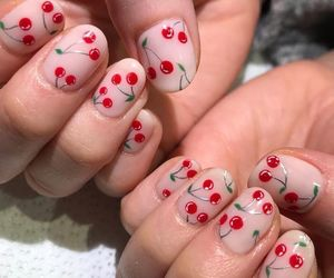 girls, makeup, and nail art image