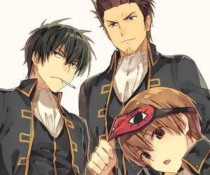 gintama, hijikata toushirou, and anime boy image