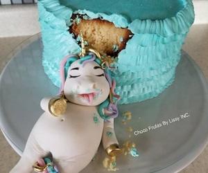 unicorn and cake image