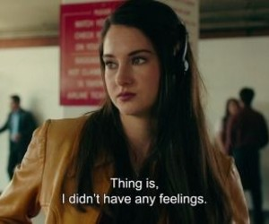 feelings, movie, and Shailene Woodley image