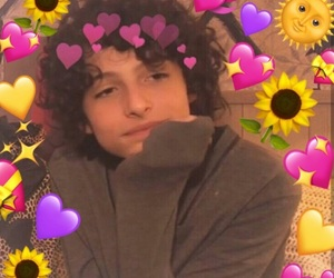meme, love, and finn wolfhard image