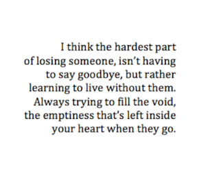 emptiness, tumblr quotes, and goodbye image