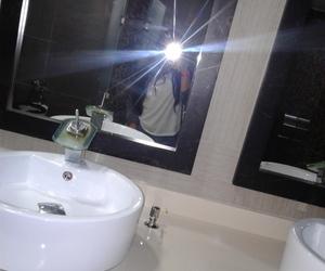 mirror, snap, and selfie image