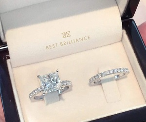 amour, cute, and bague image