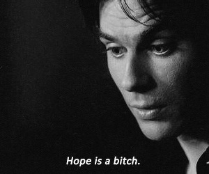 hope, bitch, and damon image