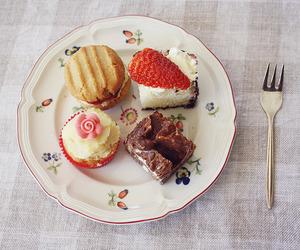 food, dessert, and cake image