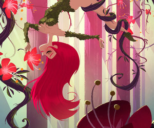 poison ivy, batman, and dc comics image