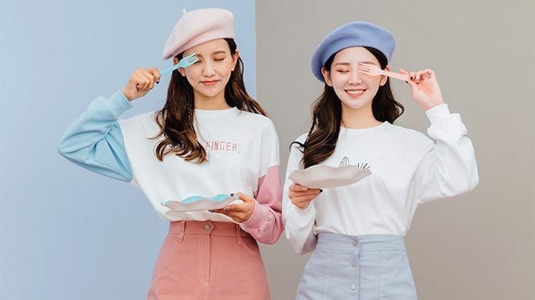 korea, moda, and style image