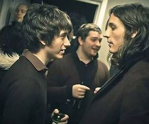 alex turner, nick valensi, and indie image