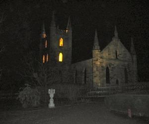 castle, creepy, and dark image