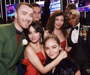 camila cabello, sam smith, and ️lorde image
