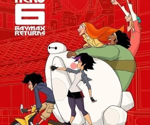 disney, big hero 6, and big hero 6: the series image