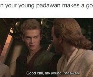 Anakin Skywalker, jedi, and meme image
