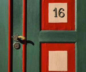 doors, numbers, and number 16 image