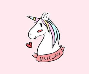unicorn, cute, and love image