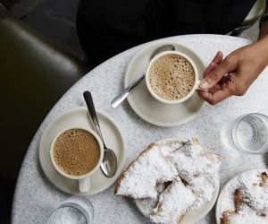 coffee, breakfast, and new orleans image