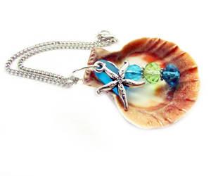 etsy, starfish ornaments, and sea shell ornament image
