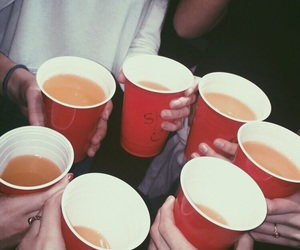 drinks, grunge, and party image
